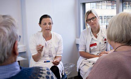 Sygeplejersker, Patientsamtale, Hospital, Fagbevægelsens Hovedorganisation,