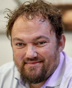 Morten Godske Jensen, lærer på Isenvad Skole, ansvarlig for arbejdsmiljøområdet i Herningegnens Lærerforening (HLF):