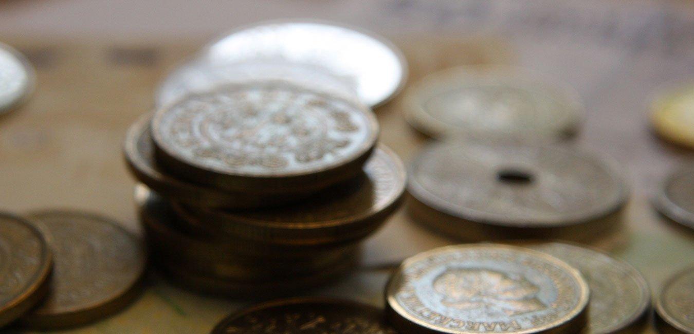 Mønter og sedler
