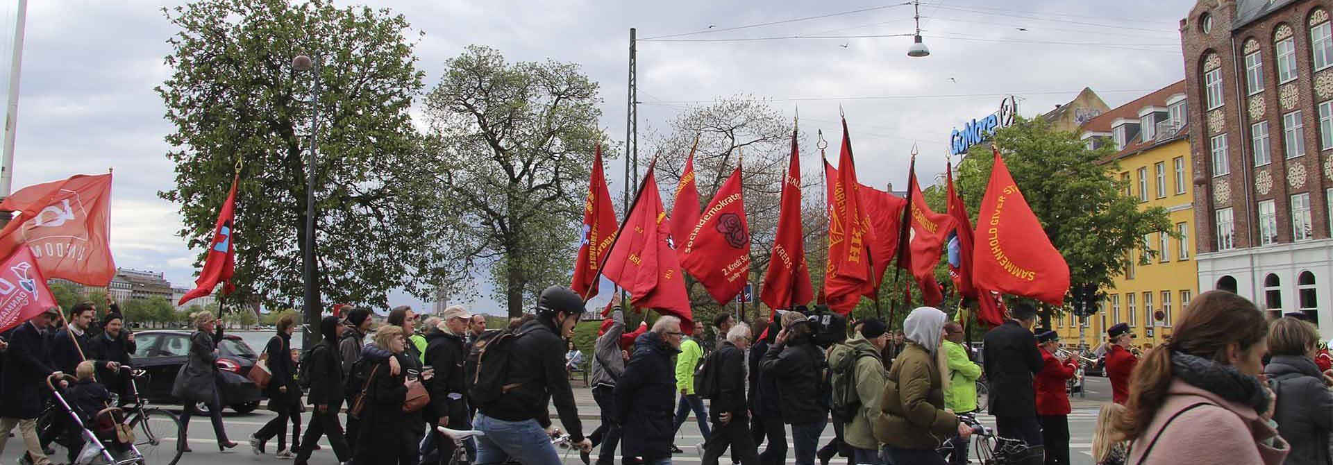 1. maj - Fagbevægelsens Hovedorganisation