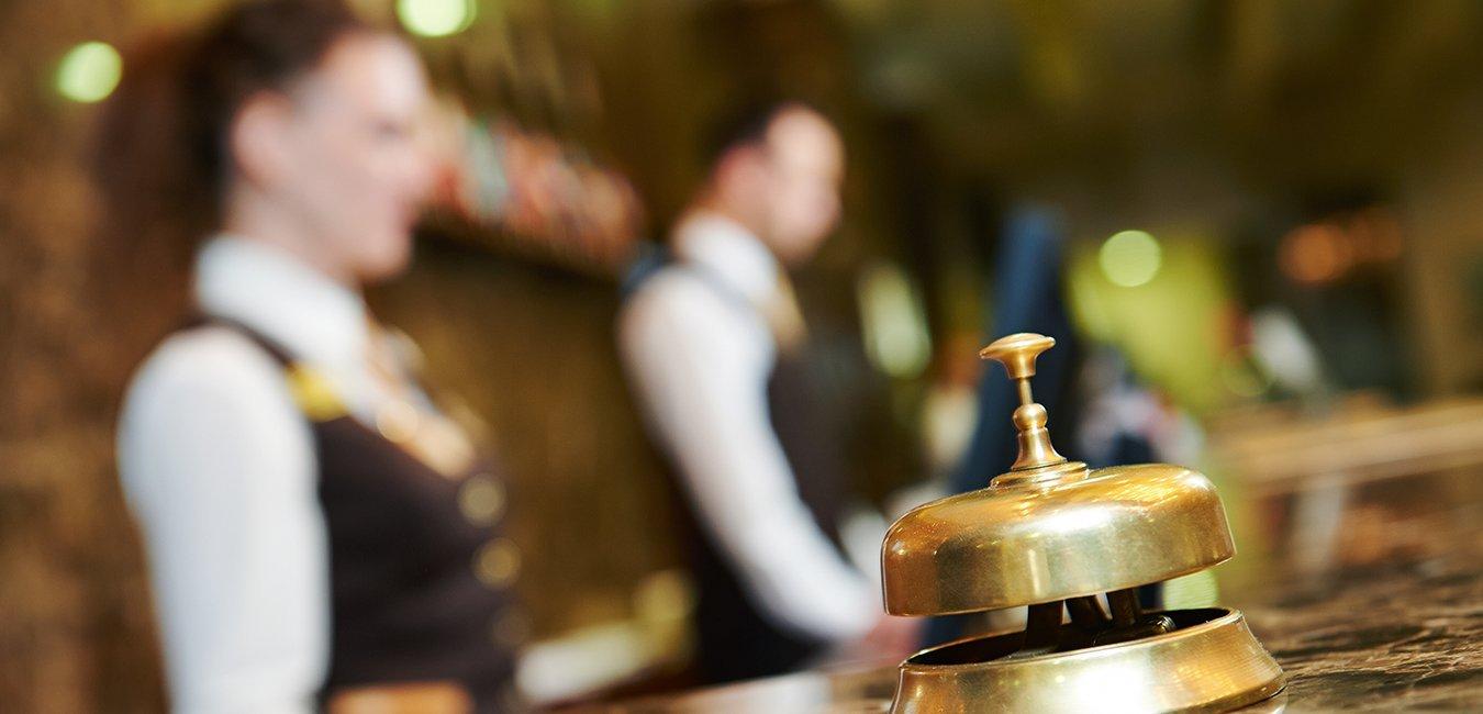 reception, hotel, shutterstock