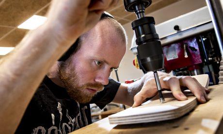 Tømmeruddannelse - Faglært arbejdskraft - Beskæftigelse