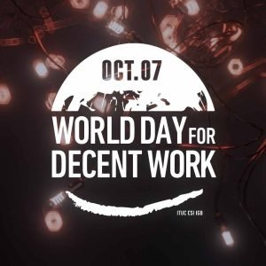 Decent Work Day 2020