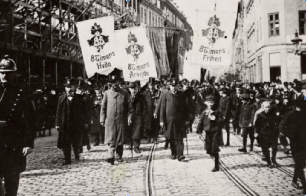 Fagbevægelsens Historie: Kampen for 8 timers arbejdsdag